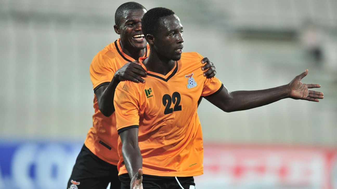 Justin Shonga rescues late point for Zambia in Namibia