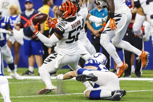 Bengals defense takes another blow as Preston Brown goes to IR