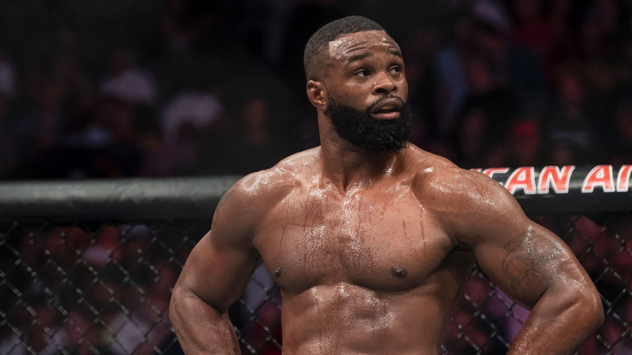 Tyron Woodley details hand injury, readies for 'road back to throne'