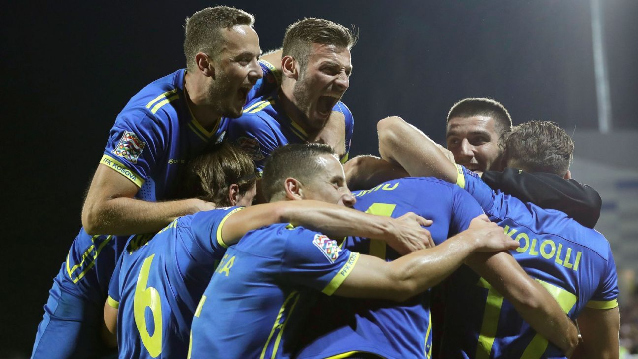 Kosovo make history with Nations League win over Faroe Islands