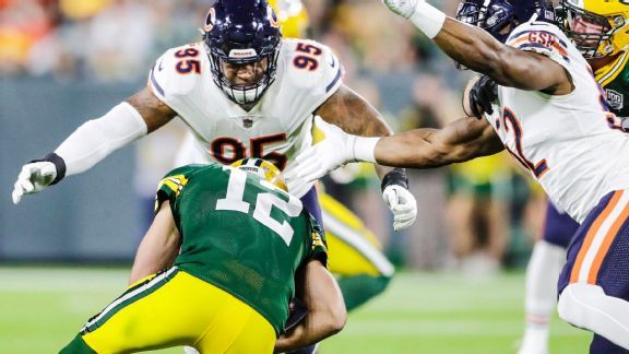Bears get chance for payback against Packers