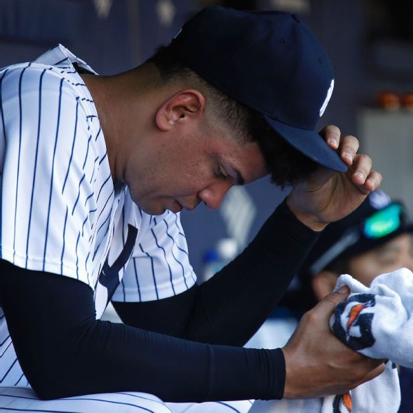 Inflamed shoulder sends Yanks' Betances to IL