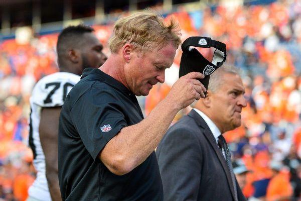 Like Mark Davis, Raiders coach Jon Gruden says, 'I just want to win'