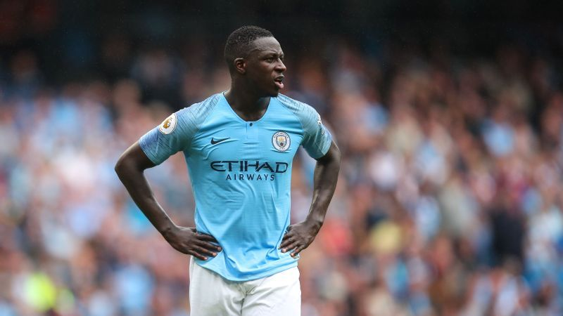 Manchester City's Benjamin Mendy undergoes surgery after derby knee injury