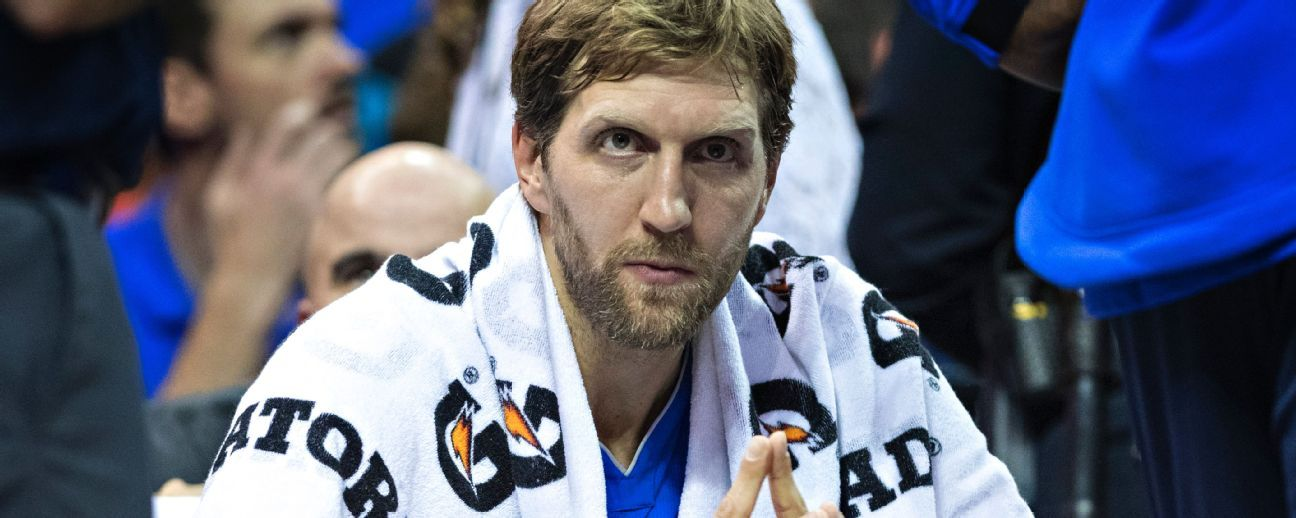 Dirk Nowitzki, Mavericks, espera debutar en su temporada 21 en la NBA para diciembre