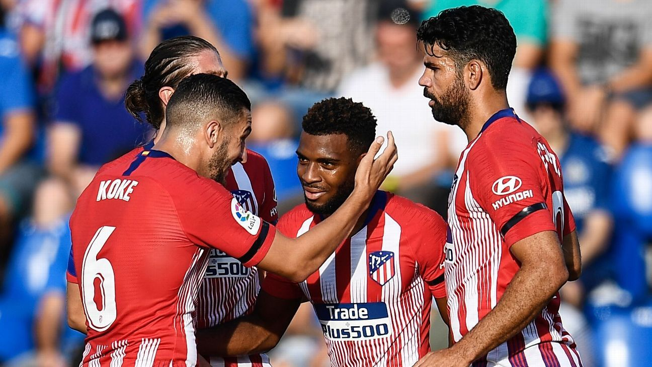 Thomas Lemar bursts to life to help Atletico Madrid past Getafe