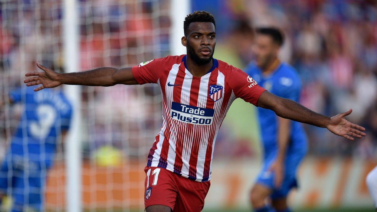 Lemar quiere aprovechar su oportunidad en el Atlético de Madrid