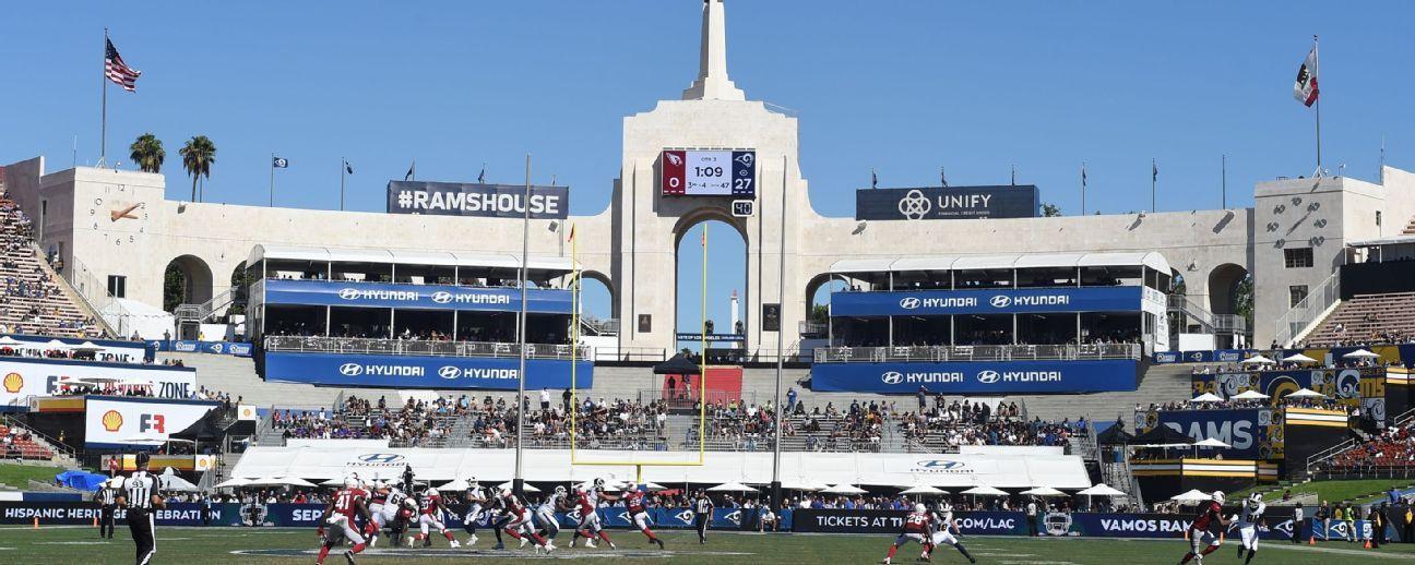 Rams inician el miércoles venta general de boletos para duelo vs. Chiefs