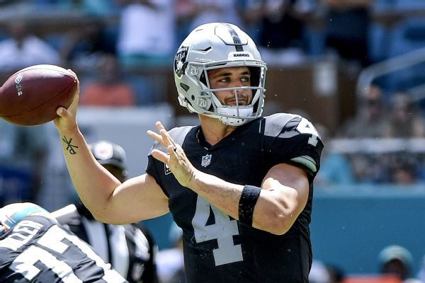 Derek Carr: Uncertainty over Raiders' stadium in 2019 'crazy'
