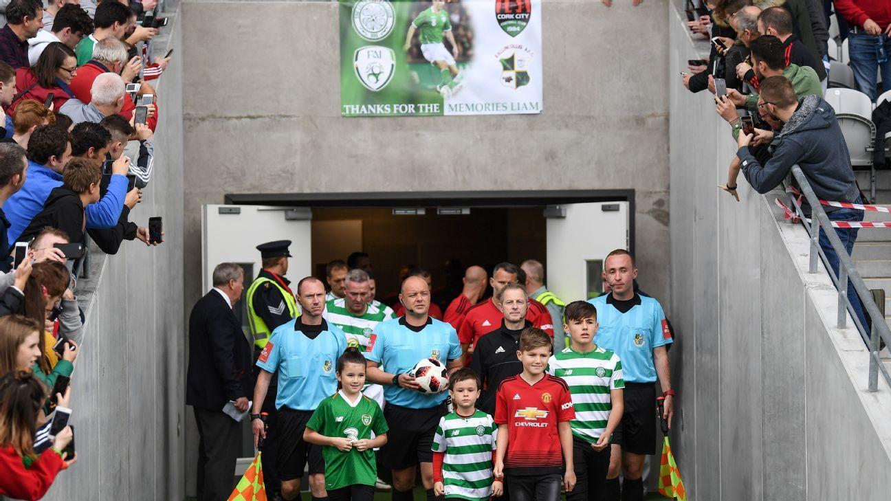 Roy Keane, Man United legends play tribute match in memory of former midfielder Liam Miller