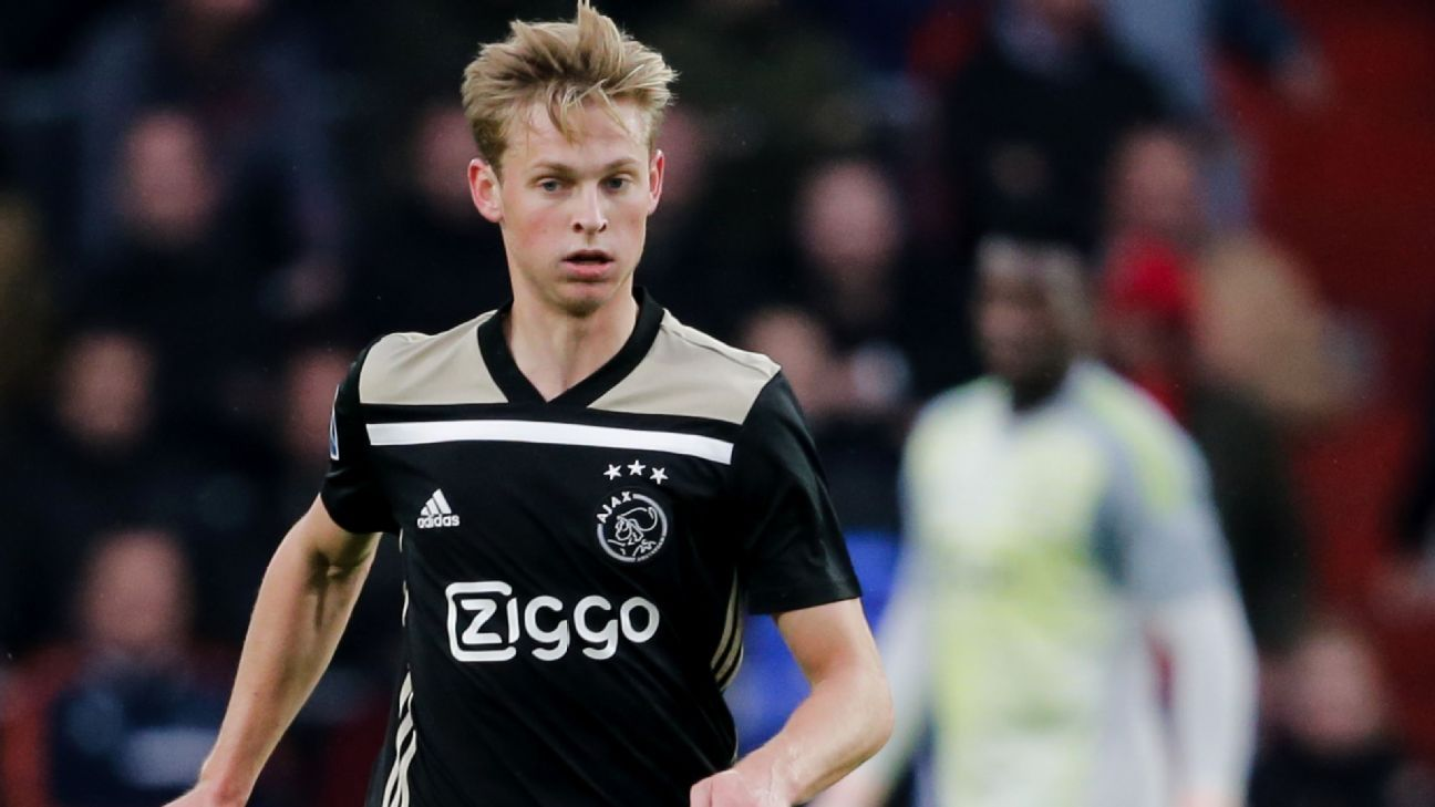 Transfer Talk: PSG to land Frenkie de Jong ahead of Man City, Barcelona, Bayern
