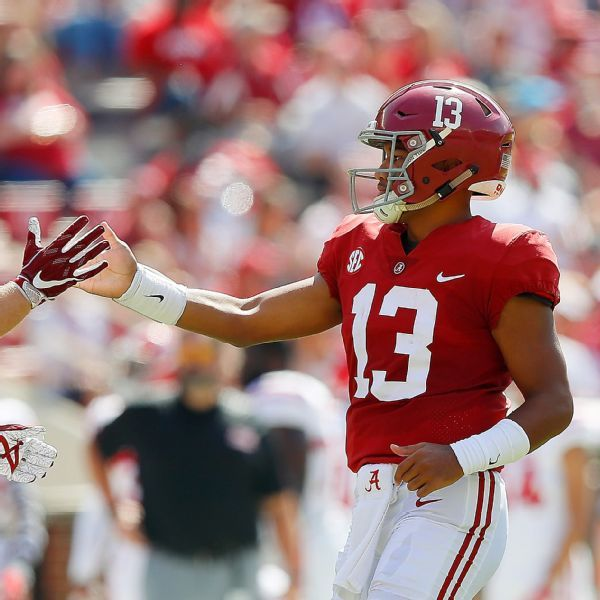 Tua Tagovailoa, Kyler Murray, Quinnen Williams, Christian Wilkins finalists for two awards