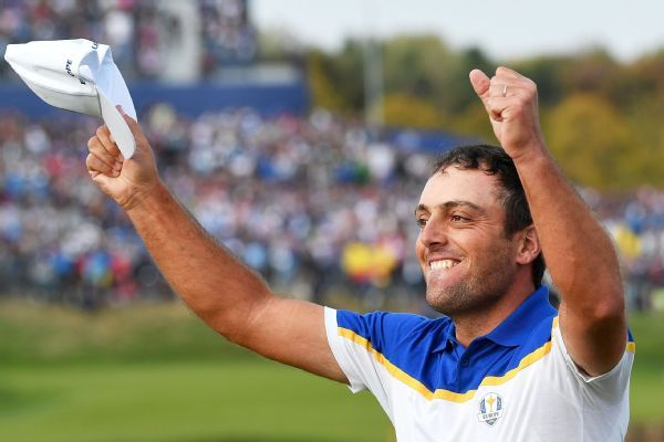Francesco Molinari voted European Tour's player of 2018