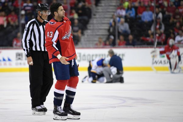 Capitals' Tom Wilson has suspension reduced to 14 games