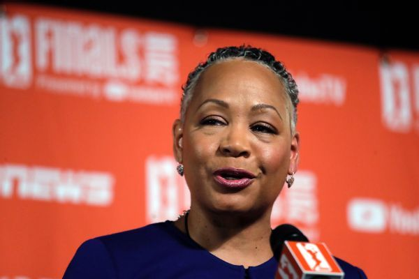 Lisa Borders stepped down from post at Time's Up over allegations against son