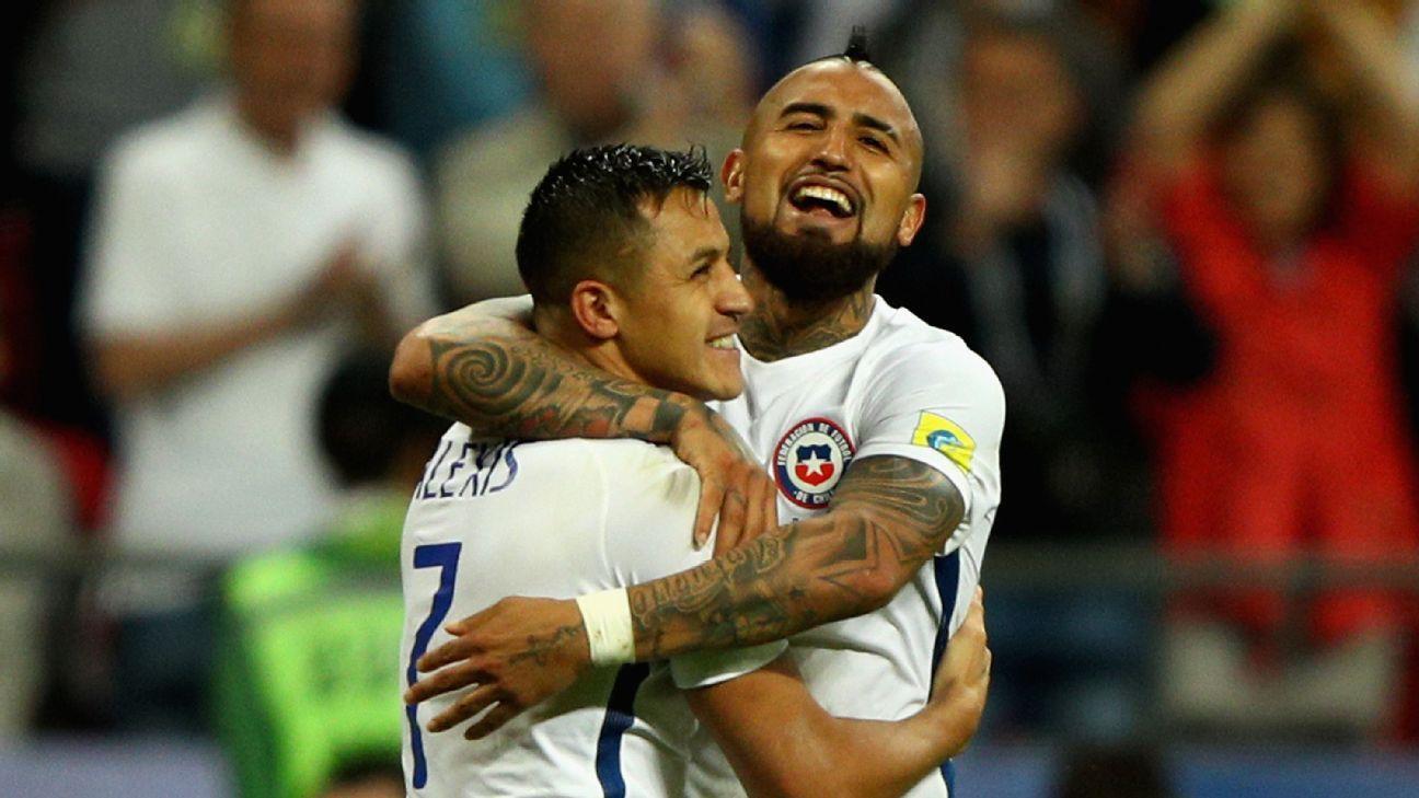 Alexis y Vidal, en el Top Ten de los más desvalorizados