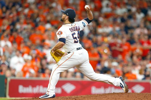 Roberto Osuna to close for Houston Astros this season