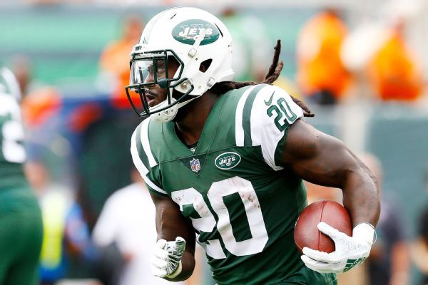 Jets' Isaiah Crowell and Quincy Enunwa ruled out against Texans