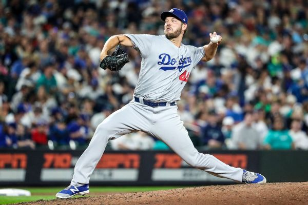 Dodgers' Hill (knee) set for season debut Sun.