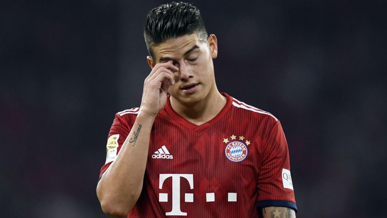 Bayern se recusa a comprar James Rodríguez só para lucrar: 'Não fazemos tráfico de humanos'