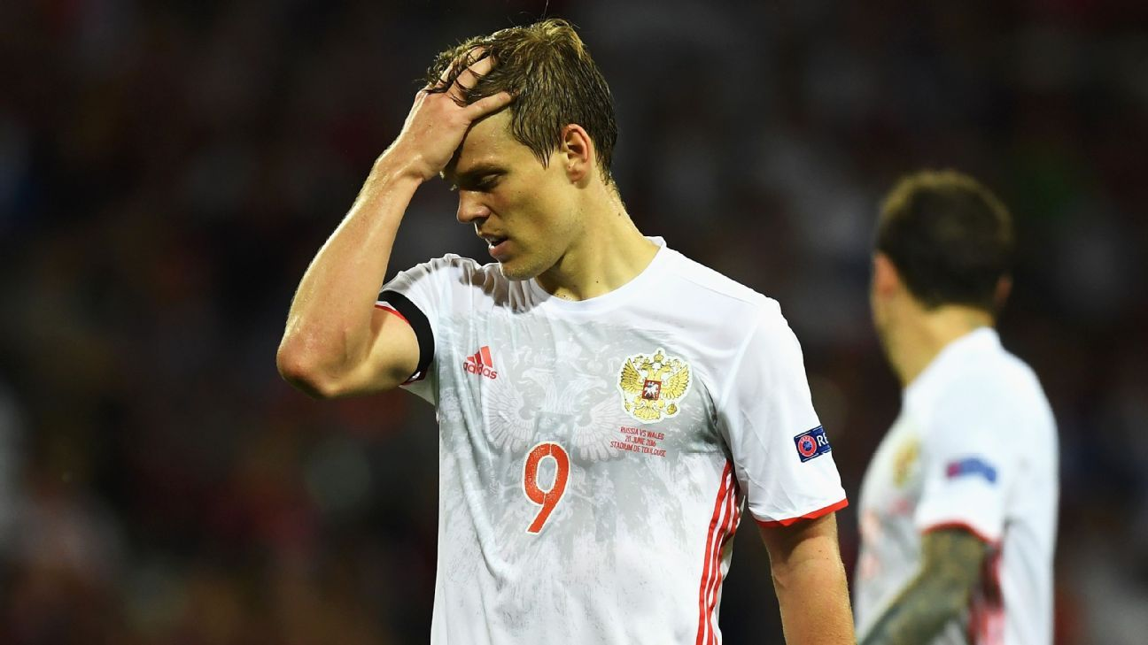 Criminal investigation opened against Russia internationals Aleksandr Kokorin, Pavel Mamaev