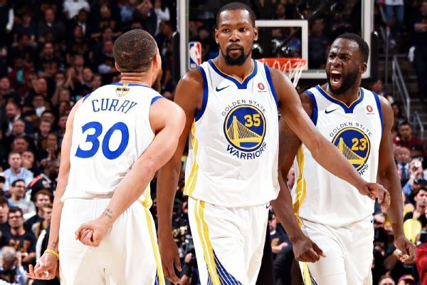 Testy Kevin Durant-Draymond Green exchange spills into locker room