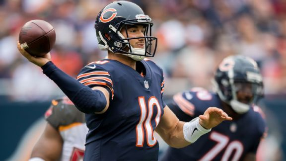 Trubisky's rise, Bears '800 plays' on offense challenge Vikings