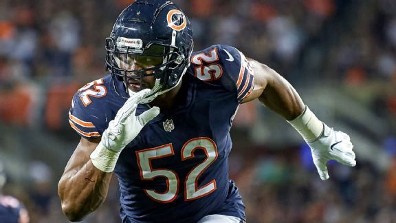 Vikings will have hands full with Khalil Mack, Bears' defense