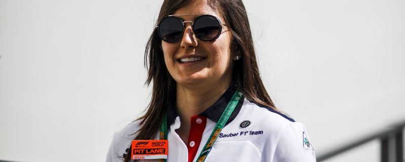 Tatiana Calderon to take part in second test with Sauber