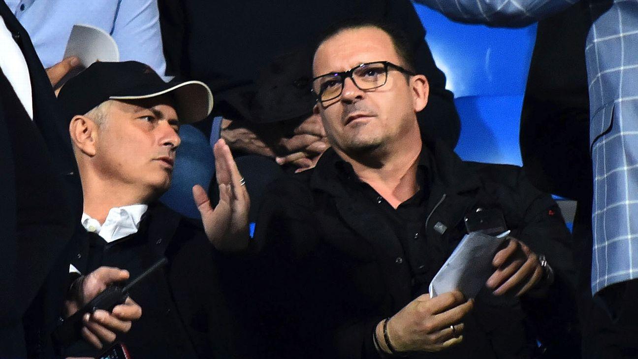 Aleksandar Mitrovic scores brace as Jose Mourinho watches Serbia win
