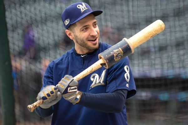 Ryan Braun, 35, aiming to build off strong finish to last season