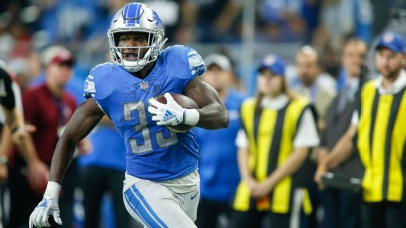 Source: Lions place Kerryon Johnson on IR