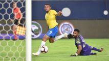 Gabriel Jesus and Alex Sandro give Brazil win over Saudi Arabia