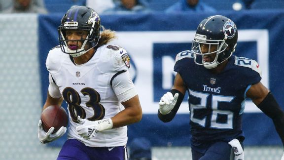 Worried about Ravens' receivers? Eric DeCosta preaches patience
