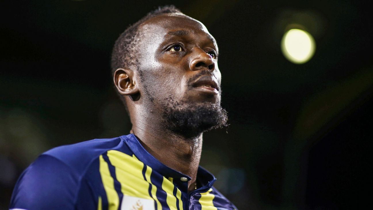 Usain Bolt signals professional football dream is over: 'It was fun while it lasted'
