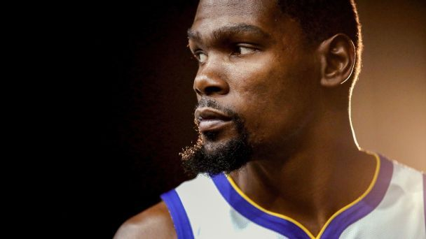 Kevin Durant is the NBA's most powerful person