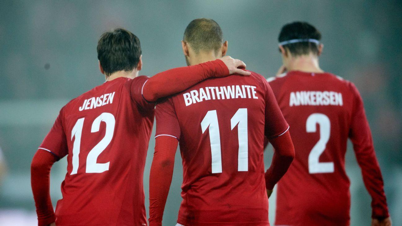 Lukas Lerager opens Denmark account in friendly win against Austria