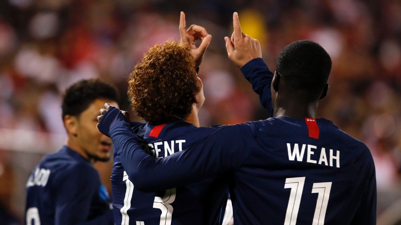 U.S. finally has hope in Sargent, Weah and Amon, but youngsters need time