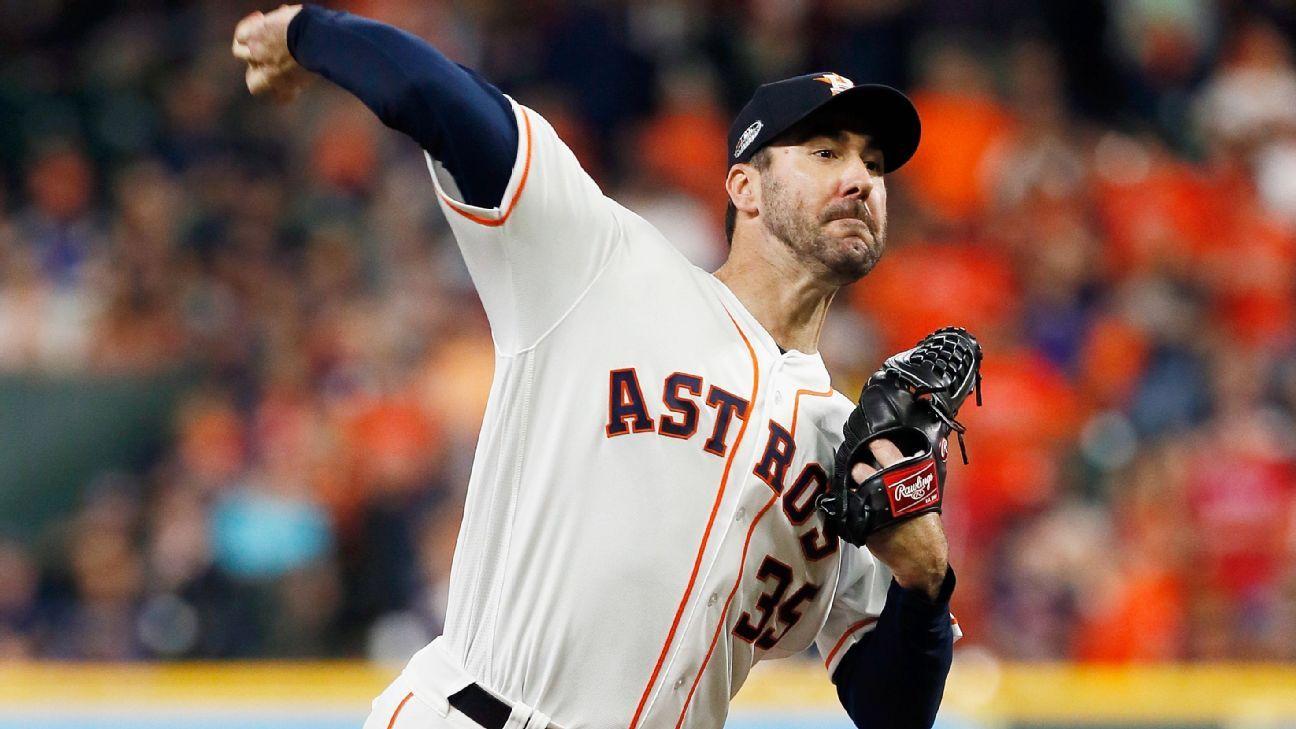 Astros y Verlander, con mutuo interés de extender contrato