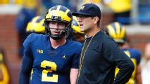 'Why not this year?' For Michigan and Harbaugh, the time is now