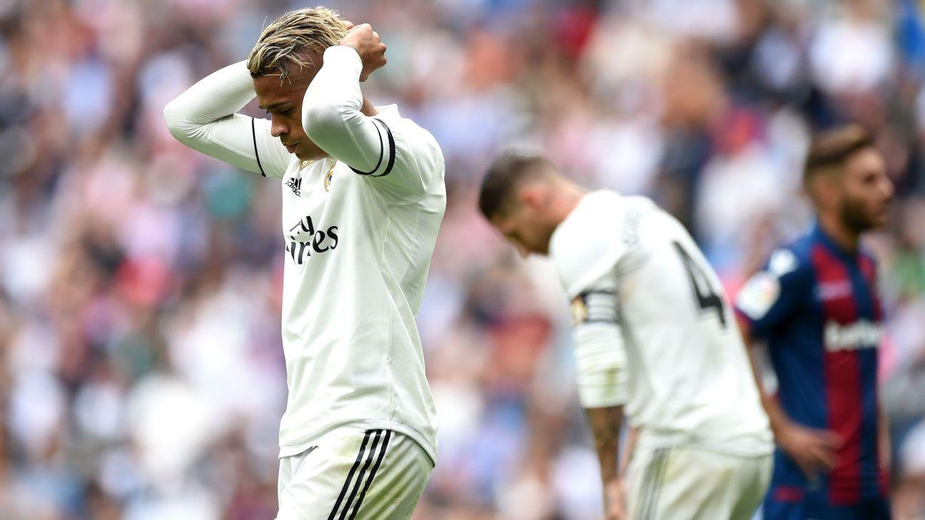 Mariano, baja por lesión en el Real Madrid