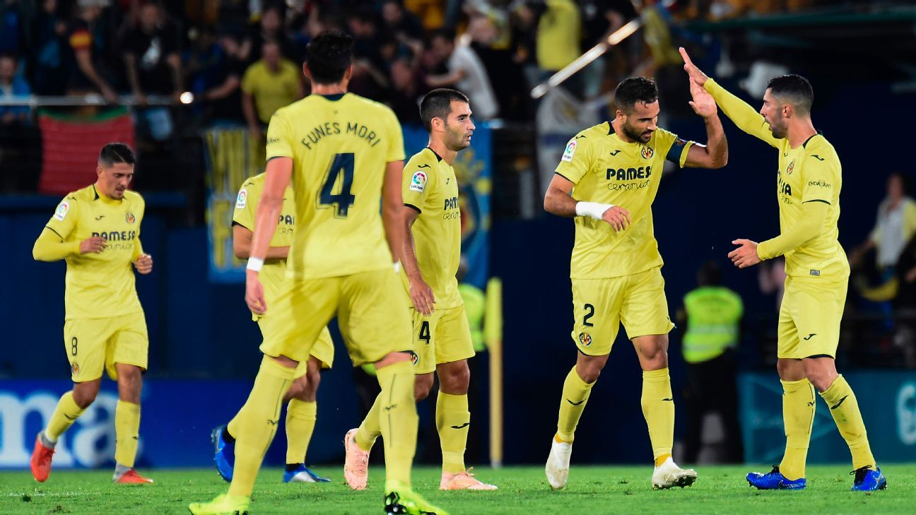 Mario Gaspar's equaliser earns Villarreal draw with Atletico Madrid