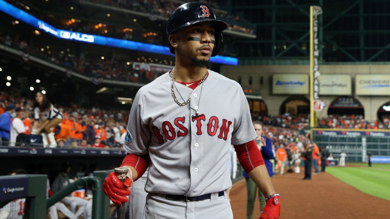 Más Valioso: Betts es primer campeón y MVP de Boston