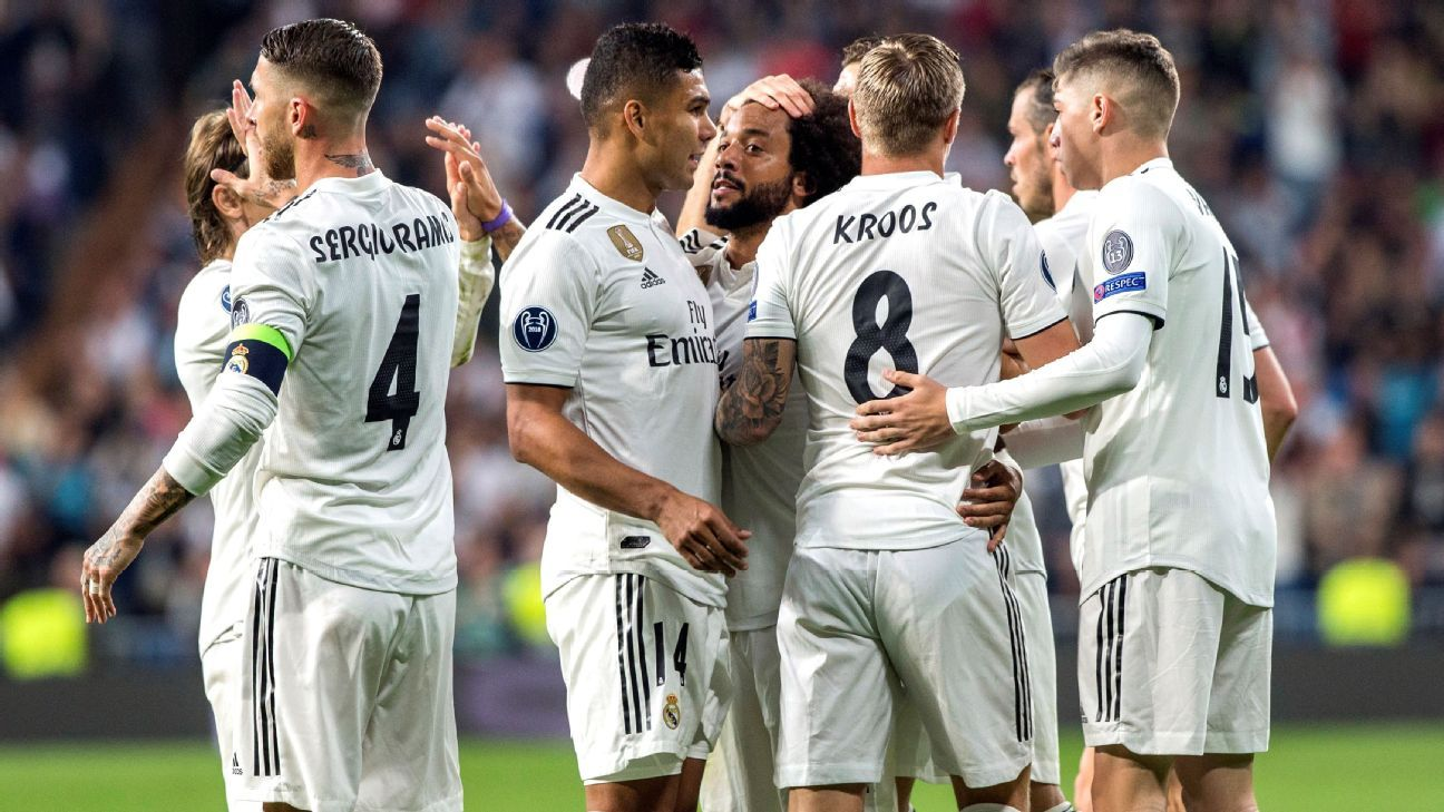 Karim Benzema, Marcelo score to lift Real Madrid past Viktoria Plzen