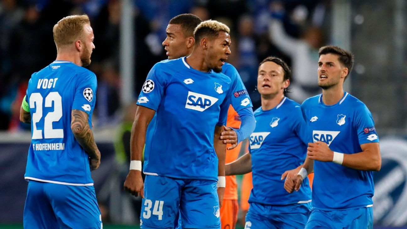 Joelinton's stoppage-time score gives Hoffenheim draw with Lyon