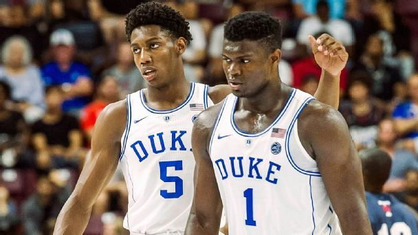 NBA draft stock watch: Zion, Barrett, Reddish and more from Duke-UNC