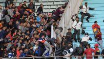 Una treintena de policías heridos durante semifinal de la Champions africana