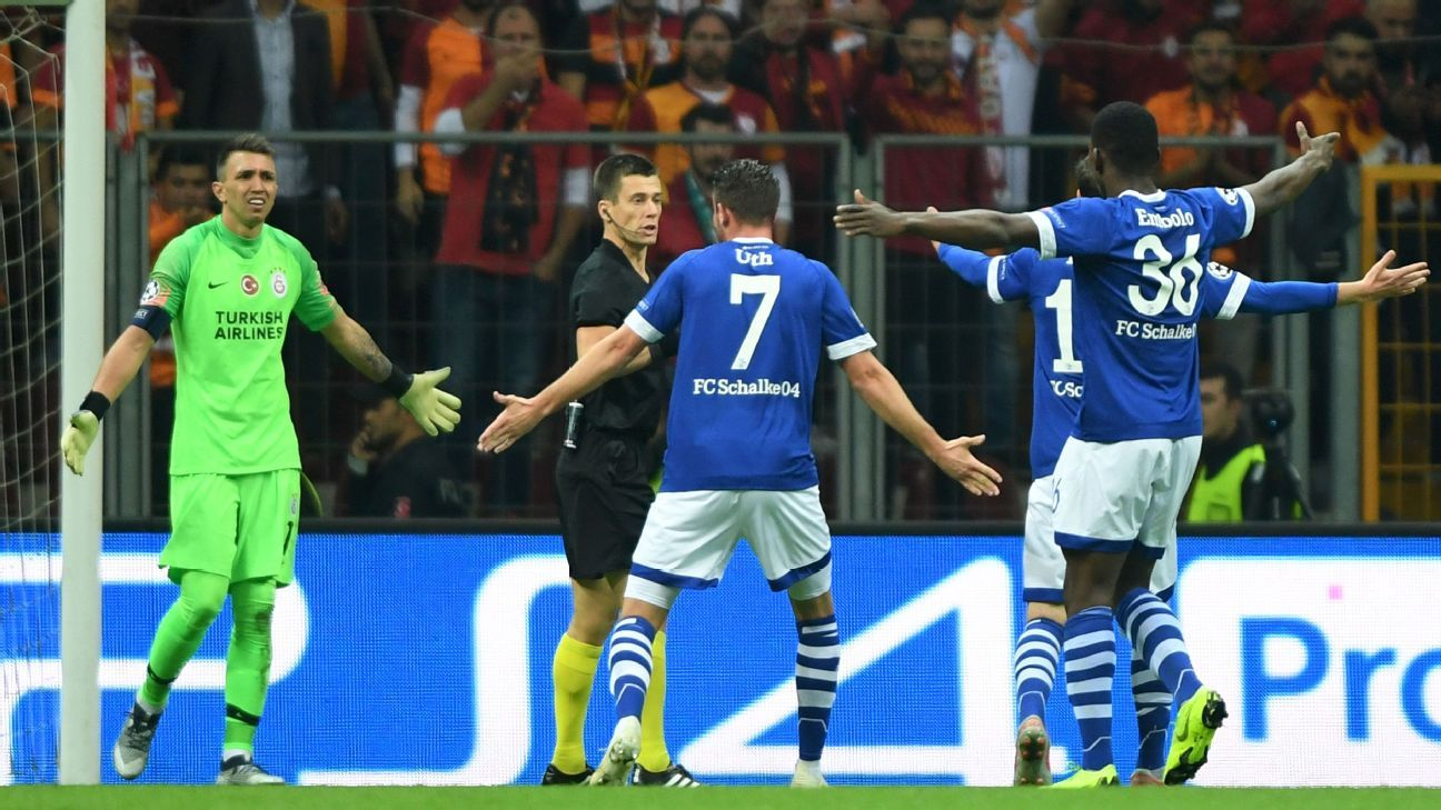 Galatasaray, Schalke both left frustrated in Champions League Group D draw