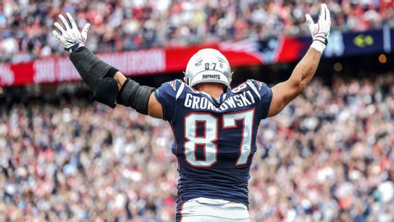 Rob Gronkowski worthy of first-ballot entry to Pro Football Hall of Fame
