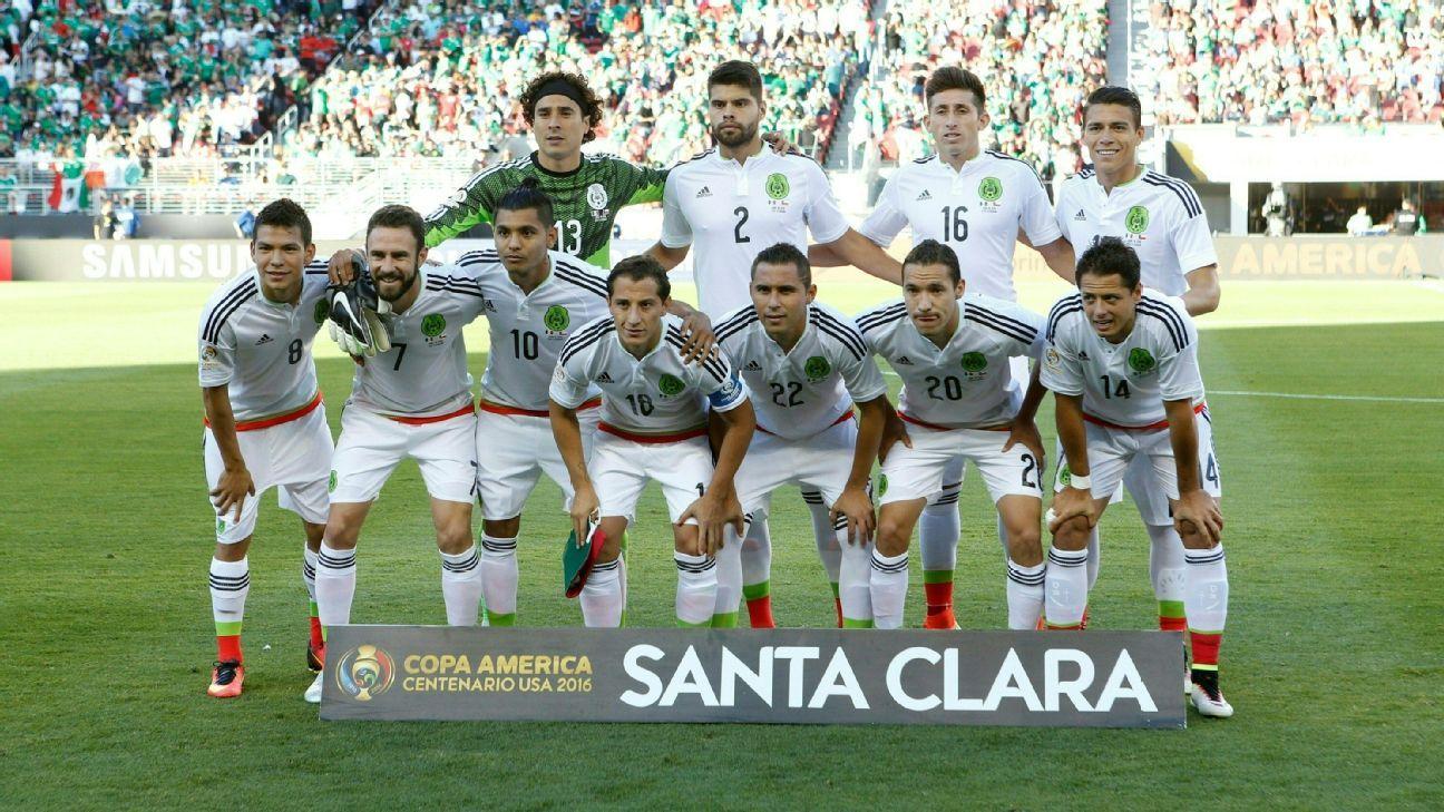 """México podrá jugar Copa América y Copa Oro con su equipo """"A"""""""